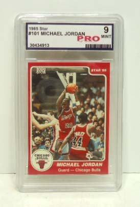 15: 1985 Star Michael Jordan Card