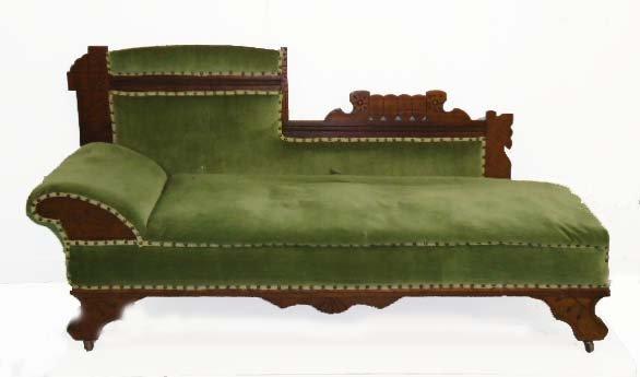 15A: Vict. Eastlake Fainting Sofa
