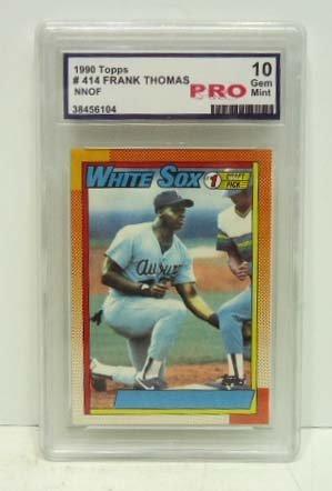16: 1990 Topps Frank Thomas Card