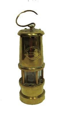 14: Early Brass Miner's Lantern