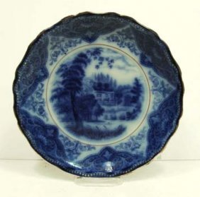 16: Flow Blue Plate