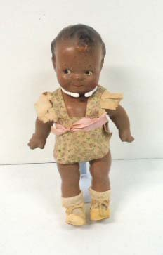 4: Black Compo  Scootles Doll