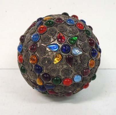 2: Jeweled Metal Ball