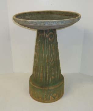 10A: Pottery Bird Bath