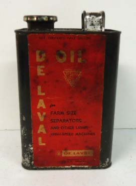 12: De Laval Oil Can