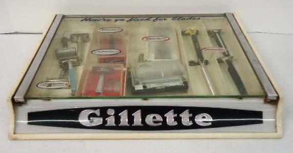 14: Gillette Razor Display Case