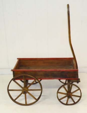15A: Wooden Childs Wagon