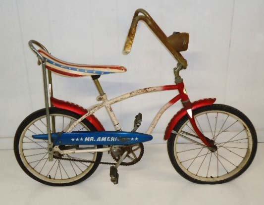 258: Huffy Mr. America Bicentennial Bicycle