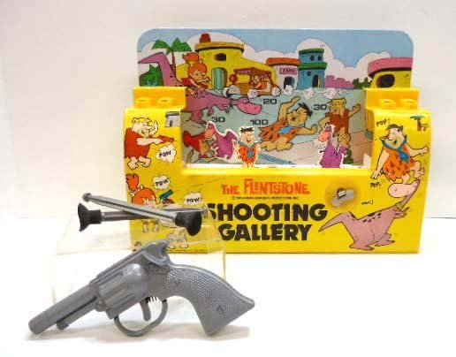 Flintstone Keywind Shooting Gallery