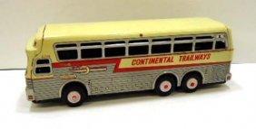 Tin Trailways Bus