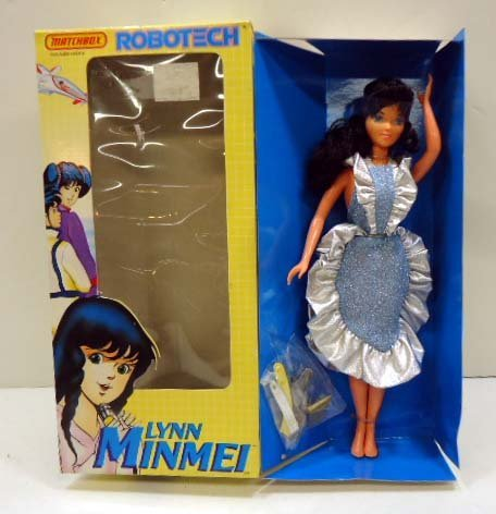 Matchbox Robotech- Lynn Minmei Doll/ NIB
