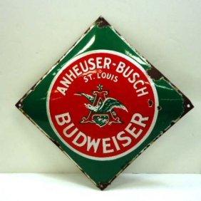 Anheuser Busch Porcelain Adv. Sign