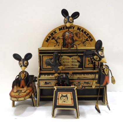 Marx Merry Makers Mouse Band