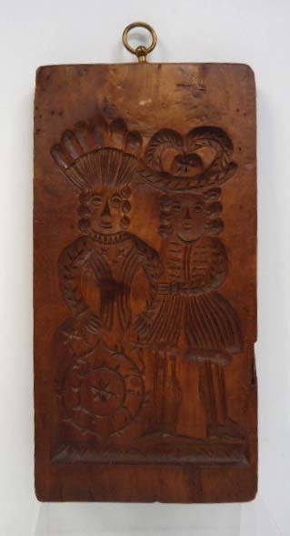 Early Wooden Cookie Mold