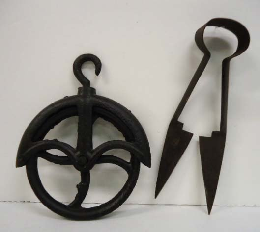 Early Pulley & Sheep Shears