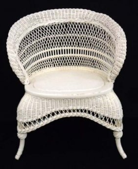 Vict. Wicker Chair