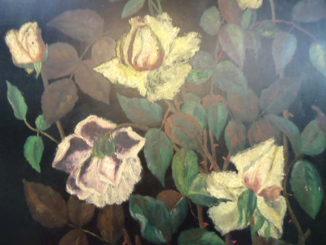 Vict. O/B Floral Still Life Painting - 2