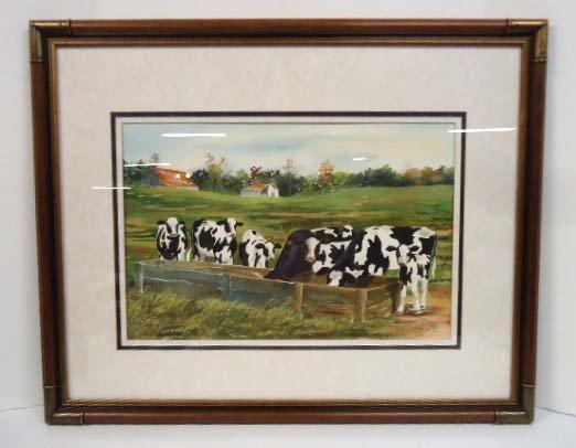 Watercolor Sgnd Judy Hartsfield 1990