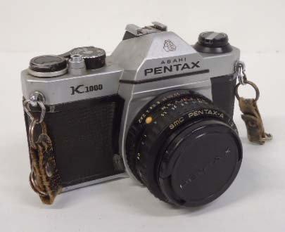 Asahi Pentax K1000 35mm