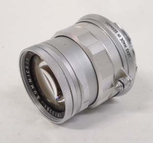 Leitz Wetzlar Summicron Lens