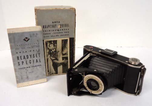 AGFA ANSCO Folding Camera