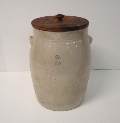 2 Gal. Stoneware Churn