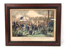 Currier  Ives Civil War Print