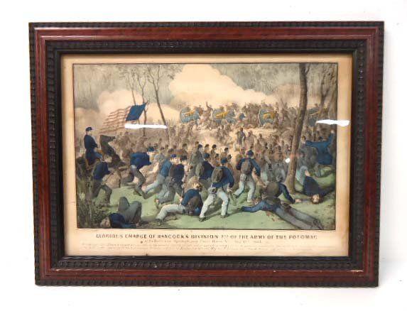 Currier & Ives Civil War Print