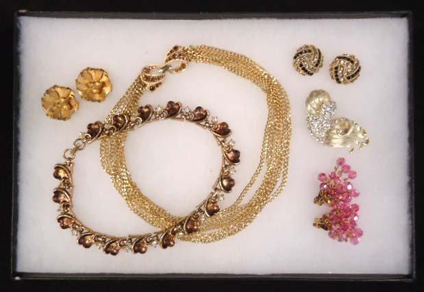 Vtg. LISNER 5pc Jewelry Lot
