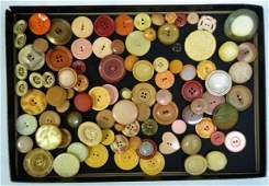 Large Vintage Lot of Buttons  Interesting
