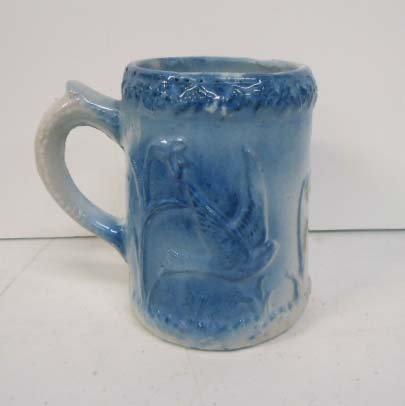 Blue & White Stoneware Mug