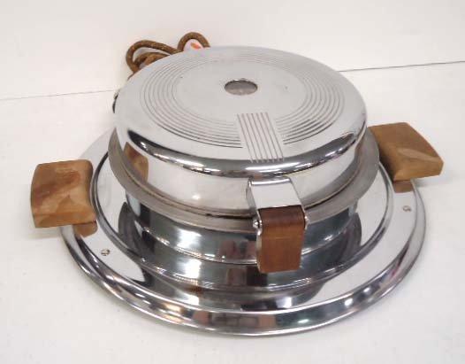 Art Deco Waffle Iron