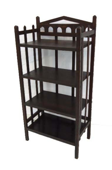 Mission Oak Book Shelf