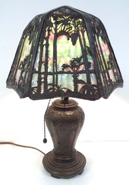 Handel Lamp Filigree Shade