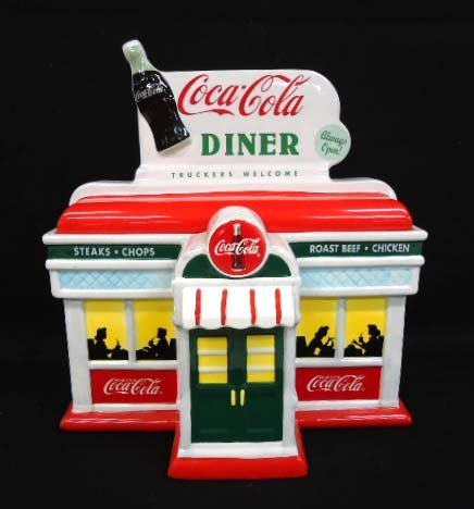 Enesco Coca Cola Cookie Jar