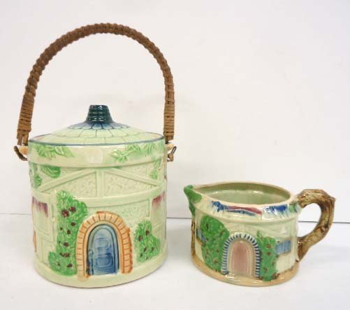 2pc Cottage Ware