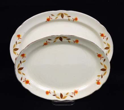 2 Hall Jewel Tea Platters