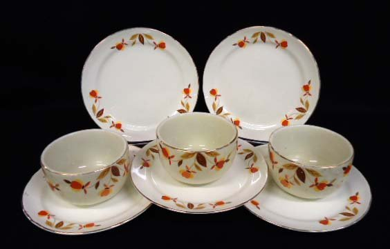 8pc Hall Jewel Tea