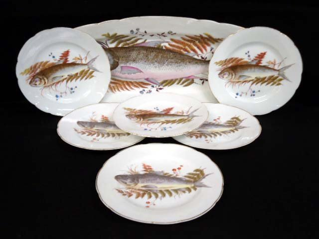 7pc Karlsbad Fish Set