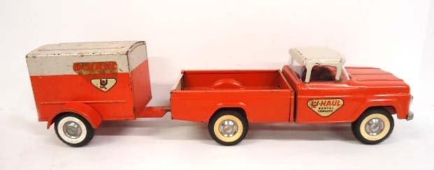 Nylint U-Haul Ford Truck & Trailer