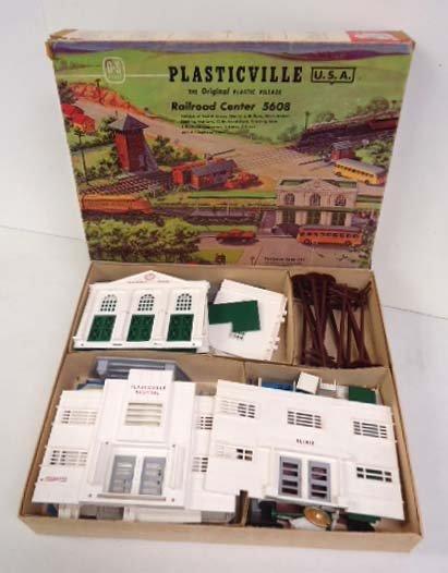 Plasticville Village Hospital & Station