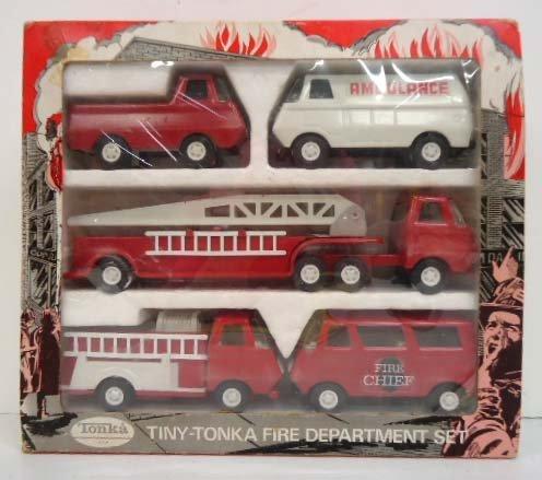 Tiny-Tonka Fire Department Set