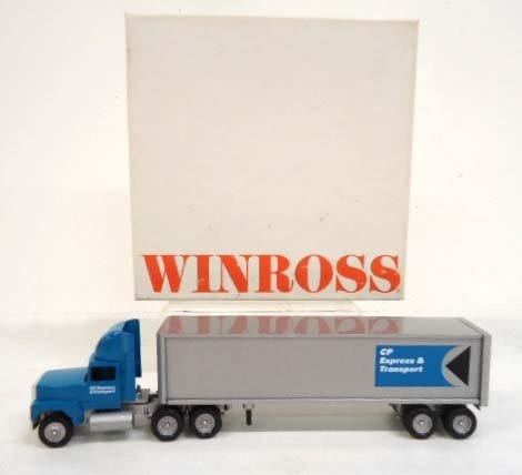 Winross Die Cast CP Express & Transport Truck