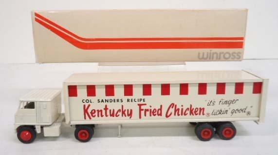1974 Winross Die Cast Kentucky Fried Chicken Truck