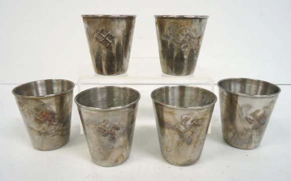 6 Nazi Shot Glasses - 2