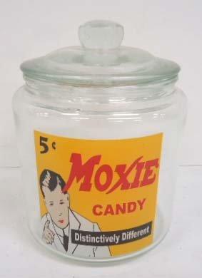 Moxie Candy Jar