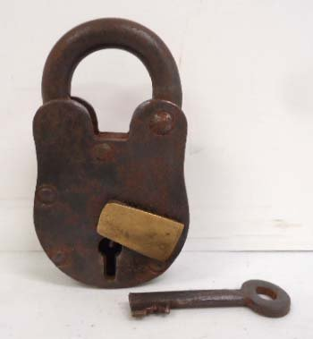 Pad Lock & Key