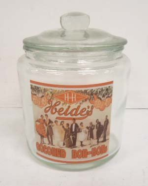 Heides Colored Bon Bon Jar