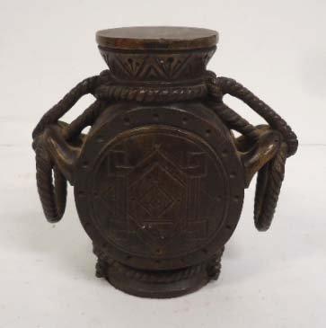 Oriental Bronze Urn