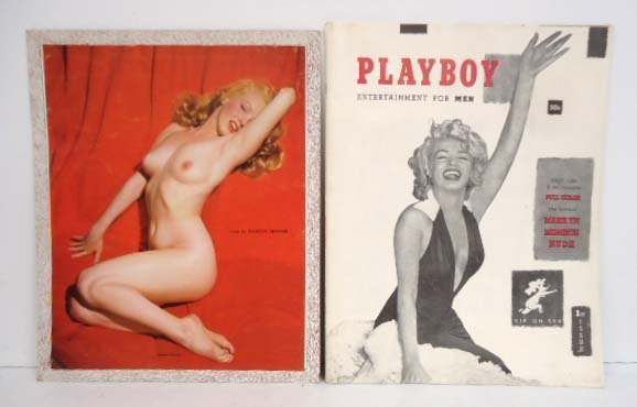 Marilyn Monroe Playboy & Calendar